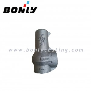 "1""  WCC/Low temperature cast iron carbon steel casting bonnet for relief valve"