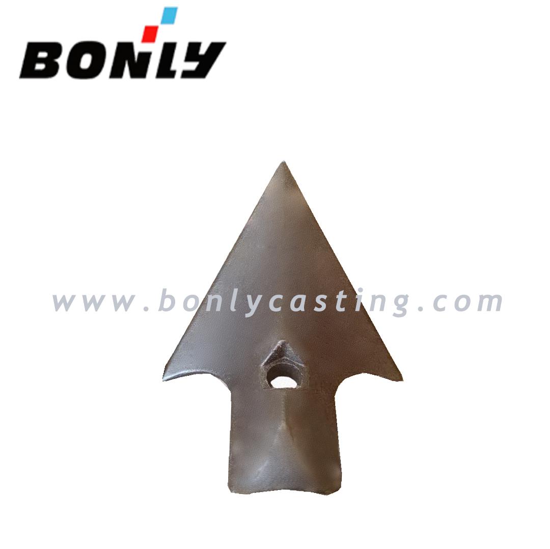 Cast iron antiwear sharp head Featured Image
