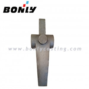 Ductile rion casting parts Bottom feet for claw jack