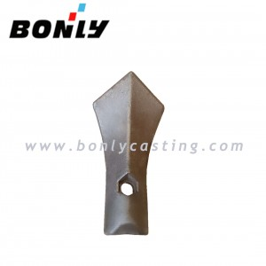 Cast iron antiwear sharp head
