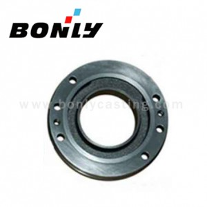 Antiwear Cast Iron Investment Casting Stainless Steel Light Railway Parts