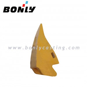 WCB/carbon steel Yellow coating excavator parts/ducket teeth/shovel teeth