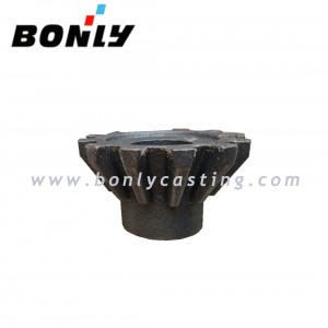 D70-03 Heat Treated Ductile Iron Hardness Rc 23-32 BEVEL GEAR/BEVEL PINION