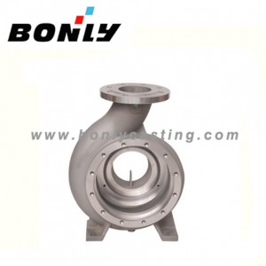 Investment casting carbon steel water pump outermost shell
