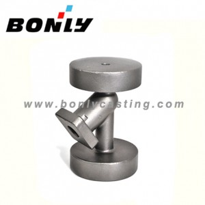 Investment casting coated sand Carbon steel water valve