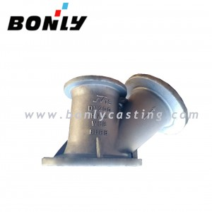 Water Glass Two Way WCB/Welding Carbon Steel DN200 PN16 V Valve