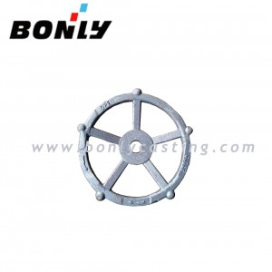 Anti-Wear Cast Iron sand coated casting WCB Valve handwheel