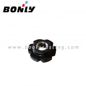 Black coating silica sol casting 8620 steel Bushing