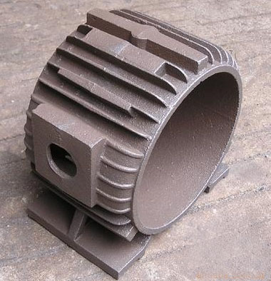 How to eliminate the sand sticking defect of large section castings