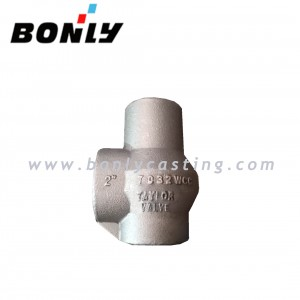 "2"" WCC/Low temperature cast iron carbon steel casting bonnet for relief valve"