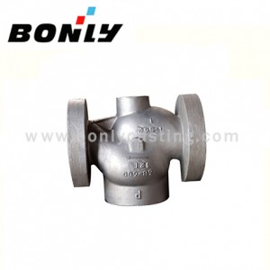 Investment casting Stainless steel three way regulating valve