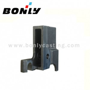 Precision Casting Alloy Steel Coated Sand Mechanical Components Chute