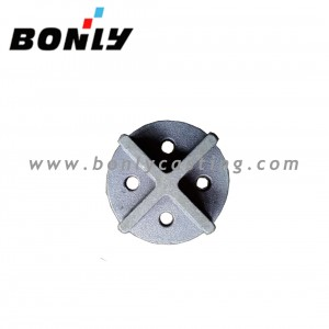 Anti-Wear Cast Iron sand coated casting Anti Wear Cross cover
