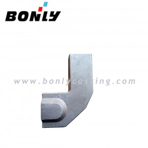 Investment Casting Coated Sand Ductile Iron Mechanical Components