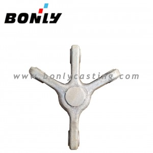 Investment Casting Coated Sand cast steel Mechanical Components