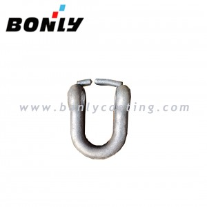 Investment Casting Coated Sand WCB/cast iron carbon steel D shackle