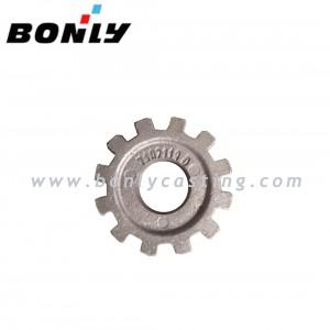Grey cast iron silica sol casting and machining Anti Wear gear wheel