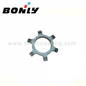 Anti-Wear Cast Iron Investment Casting Stainless Steel Wind -force Electric Motor Parts