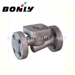 Fixed Competitive Price Hanger Track Shot Blaster - Investment casting coated sand Ductile iron Mechanical Components – Fuyang Bonly