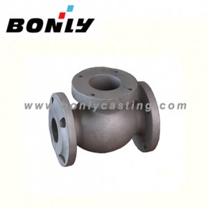 Precision investment Lost wax casting Carbon water Valve