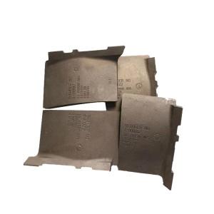 Anti-wear cast iron Coated sand casting Shot blasting machine blade