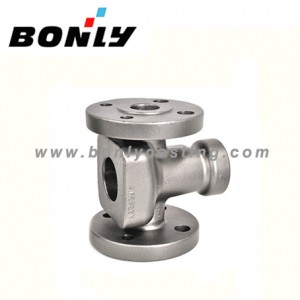 China Supplier Three Way Pvc Valve - Investment casting  Lost wax casting High chromium cast steel check valve – Fuyang Bonly