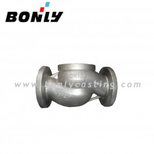 CF3M/Stainless Steel 316L Two way Pipe valve Body