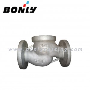 CF3M/Stainless steel 316L PN25 DN65 Two way casting valve body