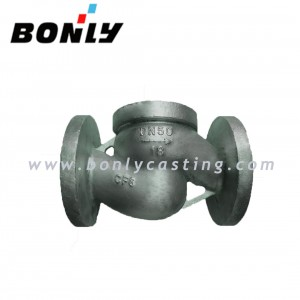CF8/304 stainless steel PN16 DN50  two way valve body