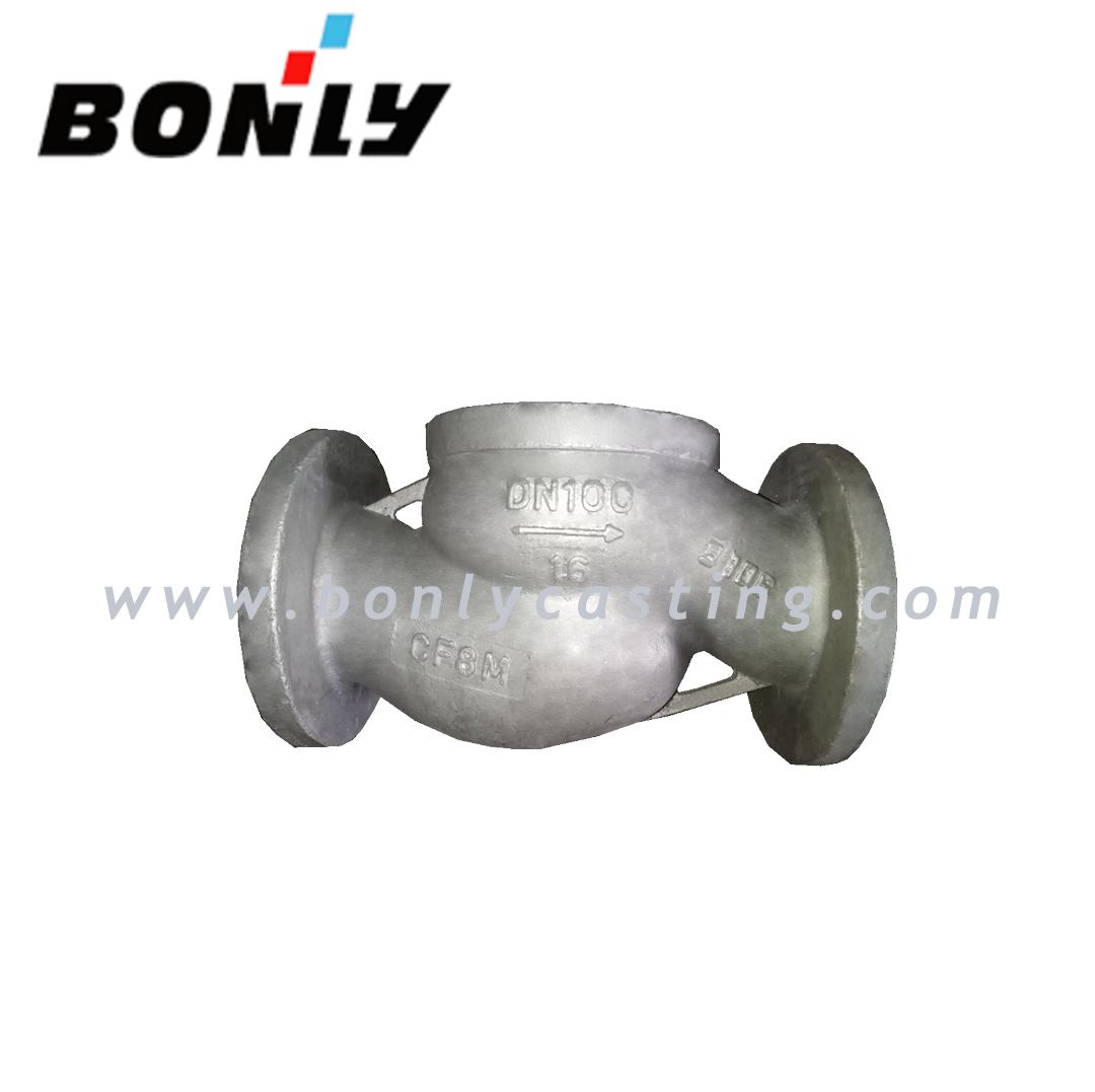 Factory Price Sprocket Wheel Gear - Wholesale CF8M/316 stainless steel PN16 DN100 two way valve body – Fuyang Bonly