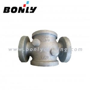 Water Glass Three Way WCB/Welding Carbon Steel CL300 DN60 Valve Body