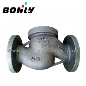 OEM Customized Wear Steel - Precision investment  Lost wax casting Carbon cast steel Cast three-way  casting Valve – Fuyang Bonly