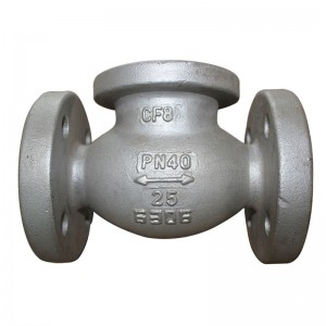 Investment casting Stainless steel two way regulating valve