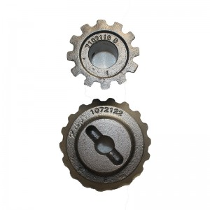Ductile iron Coated sand casting Sector gear