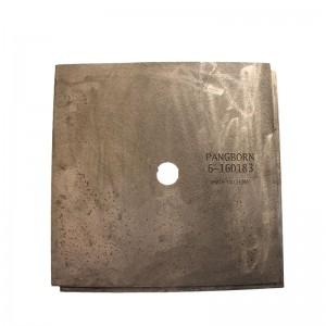 OEM manufacturer Wood Rack - Anti-wear cast iron Coated sand casting Shot blasting machine lining plate – Fuyang Bonly