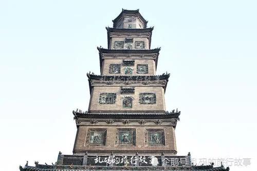 The world's largest iron Buddha head